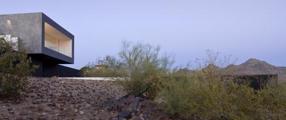 Vivienda inspirada en los fenómenos de la luz del desierto