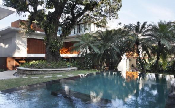 Rehabilitación de mansión en Río de Janeiro