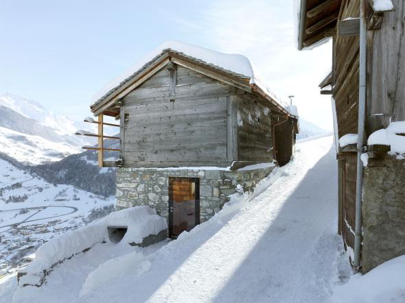 Casa para vacacionar en los Alpes suizos