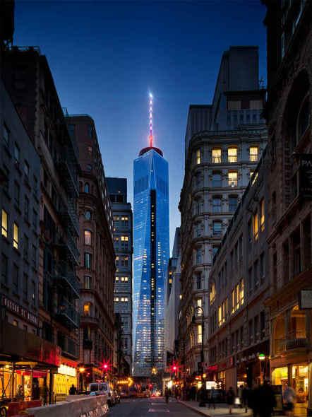 Controla las luces del World Trade Center con App