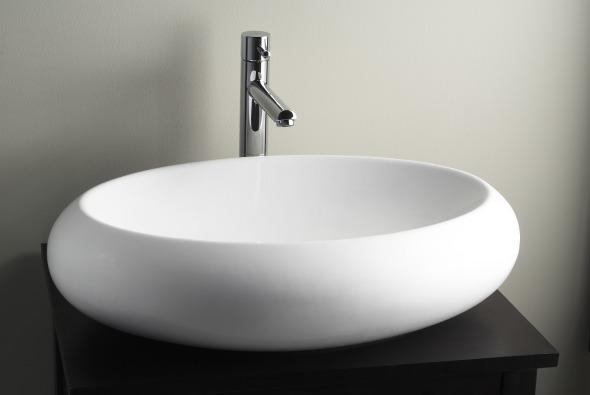 Lavabo minimalista Ovale de American Standard