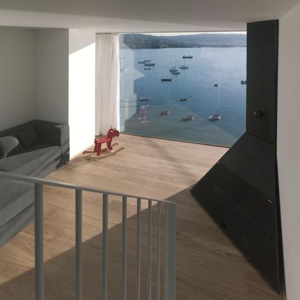 Villa frente al mar