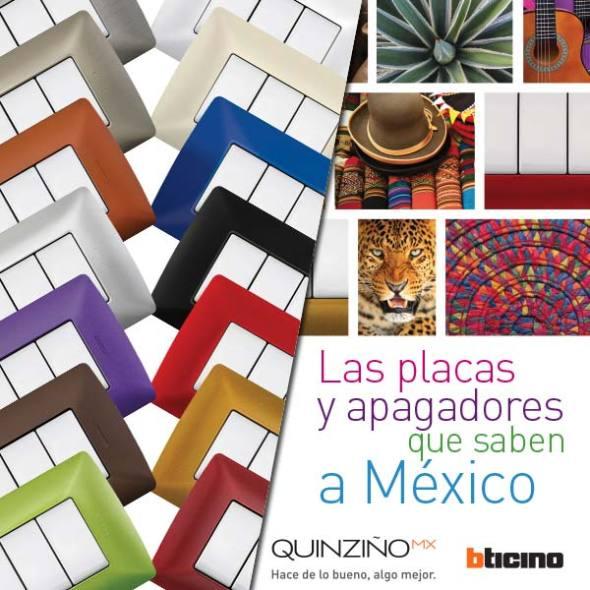 Conoce los 14 increíbles colores de la nueva línea QuinziñoMX de Bticino.