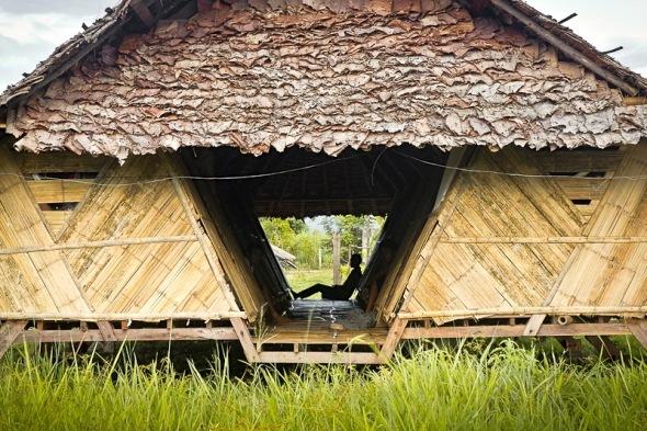 Compromiso con la arquitectura, dormitorios temporales