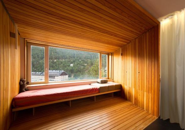 Viviendo en cajas de madera