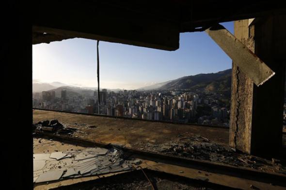 El barrio marginal más alto del mundo