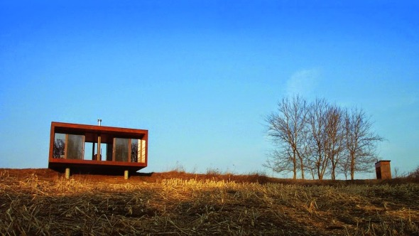 Elegante casa prefabricada