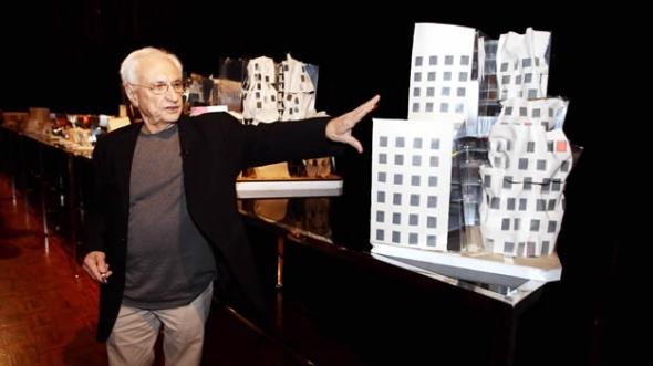 Frank Gehry propone nueva estructura para edificios en Venezuela
