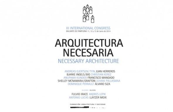 Congreso de Arquitectura necesaria