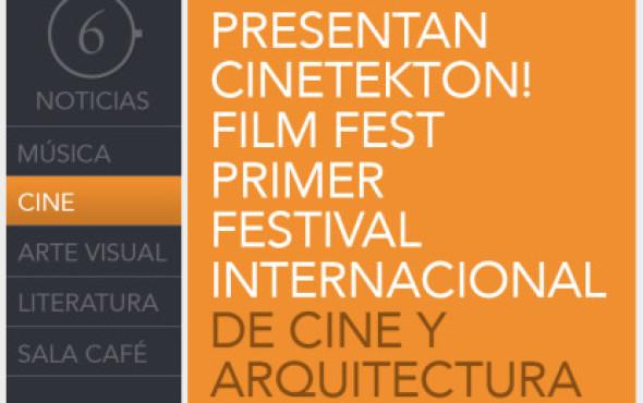 Festival de cine y arquitectura. Cinetekton