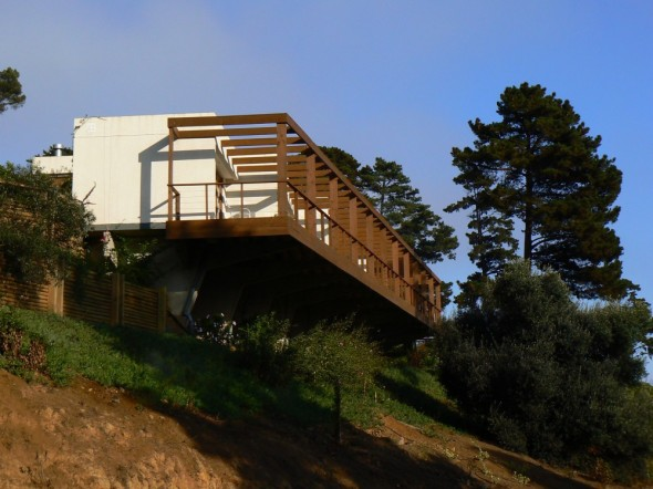 Casa prefabricada de hormigón soluciona problema de tiempo