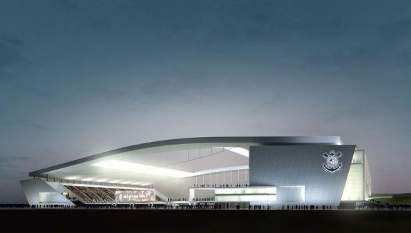 Los Estadios del Mundial de Fútbol Brasil 2014. Arena de Sao Paulo
