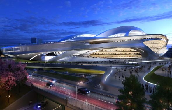 El estadio olímpico que Zaha Hadid no pudo construir
