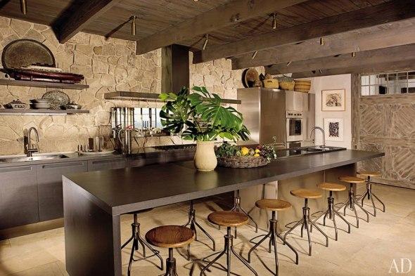 La moda de la cocina rústica
