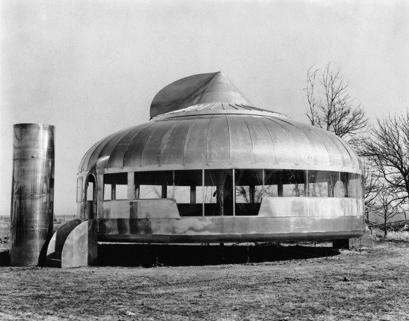 La vivienda experimental de Buckminster Fuller