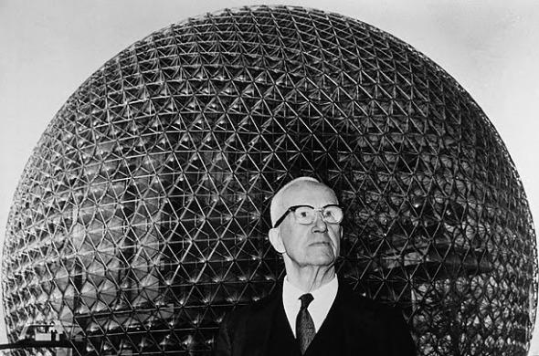Julio, el mes de Buckminster Fuller