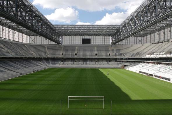 Los Estadios del Mundial de Fútbol Brasil 2014. Arena da Baixada