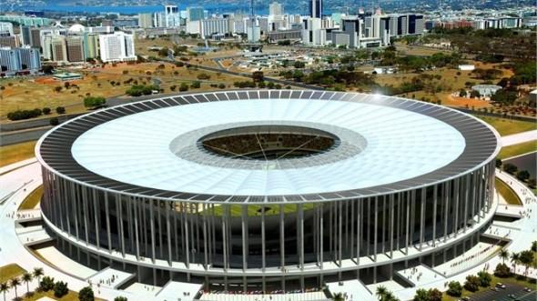 Los Estadios del Mundial de Fútbol Brasil 2014. Estadio Nacional Mané Garrincha