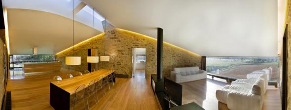 Moderna casa granero