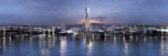 SOM gana Concurso del rascacielos más alto de Suecia