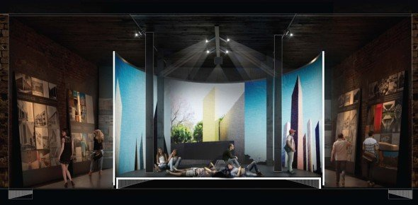 Cara lúdica de México en la Bienal de Arquitectura