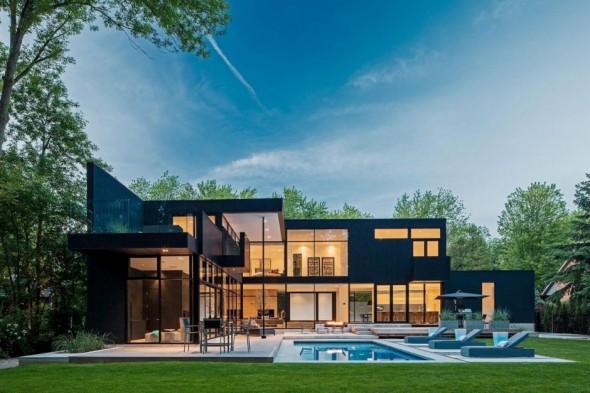 Elegante casa Canadá
