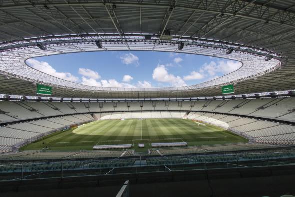 Los Estadios del Mundial de Fútbol Brasil 2014. Arena Castelao