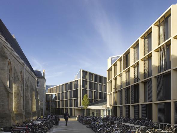 Espectacular diseño de Rafael Viñoly para la Universidad de Oxford