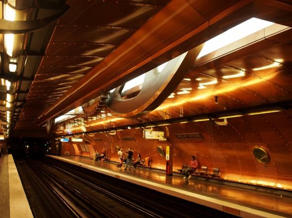 Las mejores estaciones de metro por diseño arquitectónico