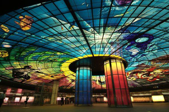 Las 10 estaciones de metro más atractivas