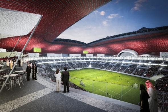 Se dio a conocer el diseño del segundo estadio de la Copa Mundial de Qatar.