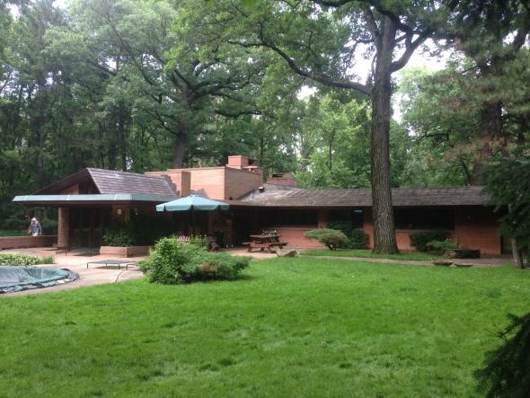 ¿Cómo es vivir en una casa de Frank Lloyd Wright?