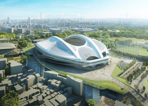 Modificaciones al estadio de Zaha Hadid