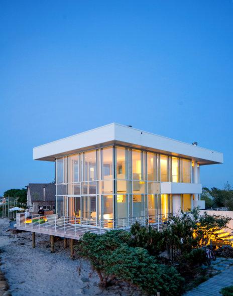 La pequeña casa de Richard Meier