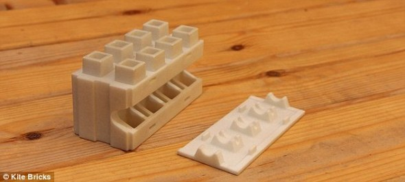 ¿Este Lego gigante podría ayudarnos a crear casas reales?