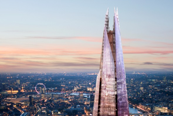 The Shard finalista de los Premios RIBA