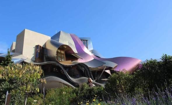 La Ciudad del Vino de Frank Gehry