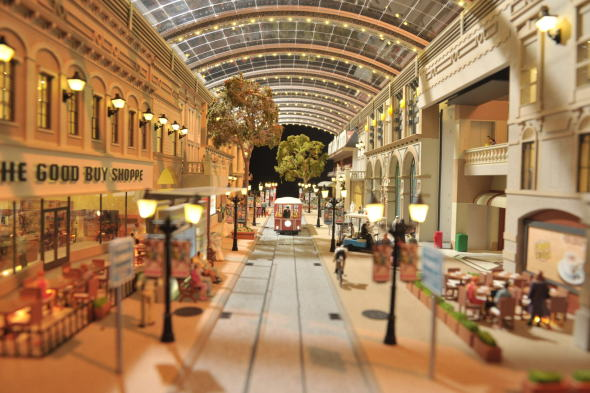 El centro comercial del mundo