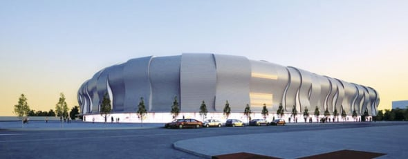 Estadio Balaídos cambia de forma radical su piel