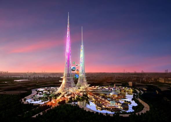 Chetwoods crea una torre abiertamente icónica