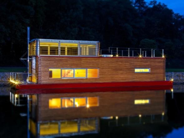 La casa flotante