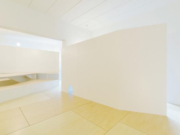Muro conector al interior de una vivienda