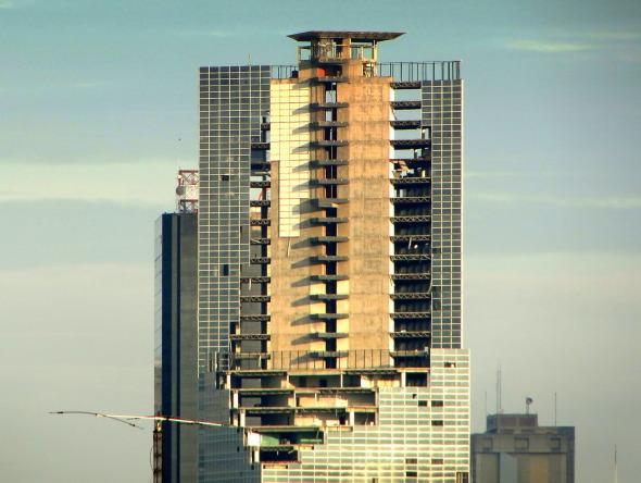 Desalojo de la Torre David