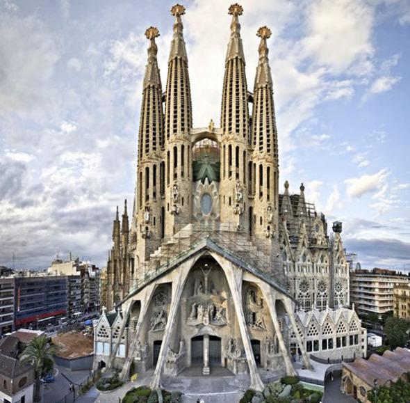 Lo relevante de la Sagrada Familia de Gaudí
