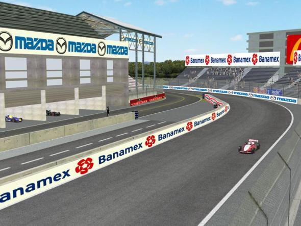 Remodelación del Autódromo Hermanos Rodríguez para la Fórmula 1. [Video]