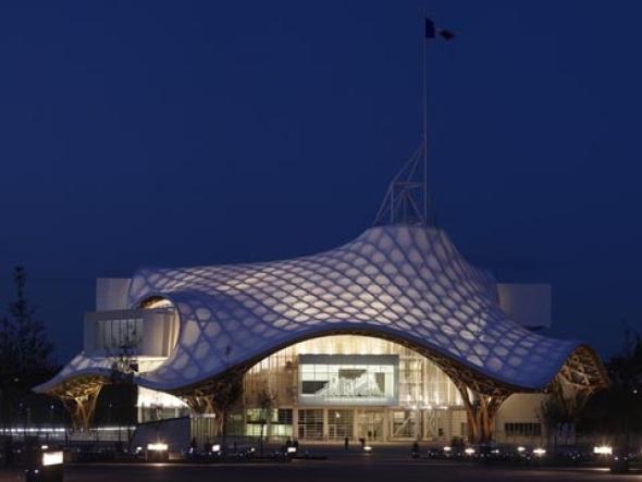 El templo para el arte contemporáneo. Centro Pompidou Metz
