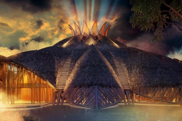 Espectacular circo en la Riviera Maya
