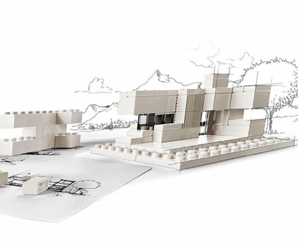 Pudiera Lego Architecture Studio en realidad ser útil para los arquitectos
