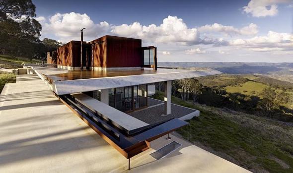 La casa australiana del año es invisible
