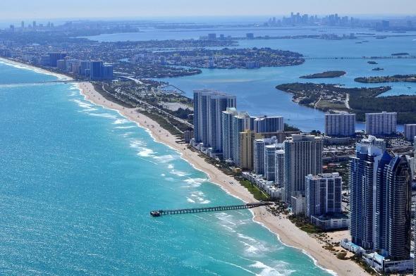Miami puede perder sus playas si no se crea un plan urbanístico